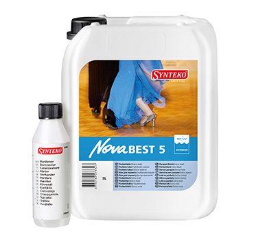 Synteko Nova Best 5 water based floor finish