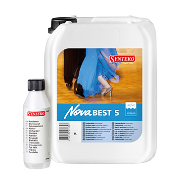 Synteko Nova Best 5 water based floor finish